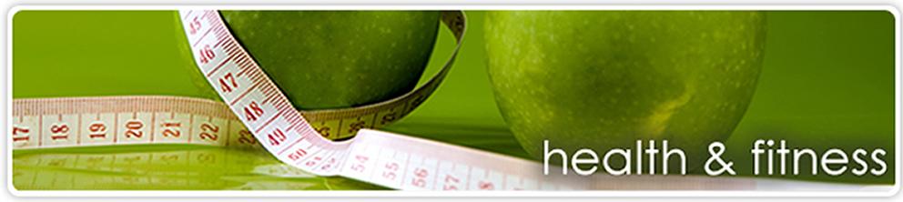 health&fitness banner