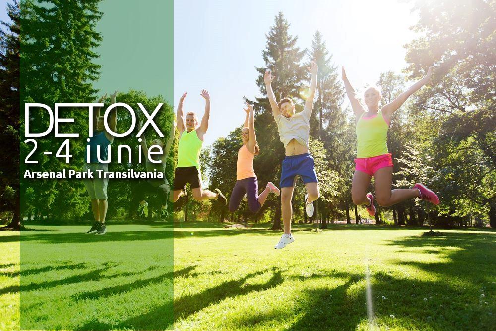 Tabără DETOX și slăbire 2-4 iunie